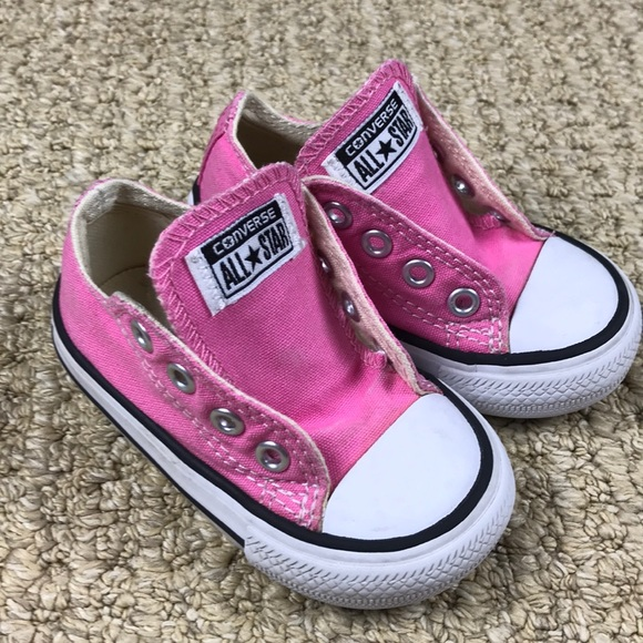 Converse, baby size 4, pink in 2020 | Baby shoes, Chucks